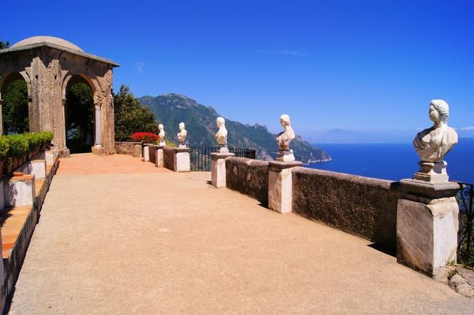 Villa Cimbrone Ravello Amalfi Coast Italy Visit The Gardens
