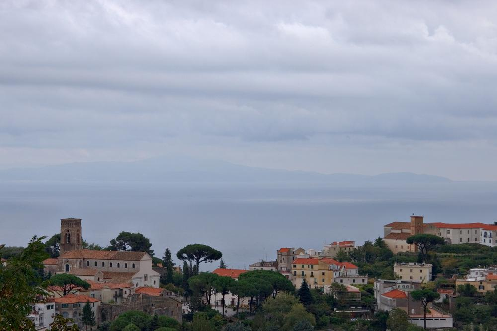 Panorama of Ravello from Scala